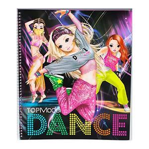 Depesche Top Model Dance Boyama Ve Tasarım Kitabı