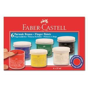 Faber Castell Parmak Boyasi 6li 5170160402