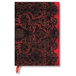 Paperblanks PB-3-3247-2 Rouge Lace Midi Çzgili
