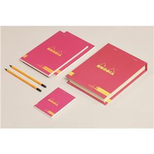 Rhodia Poppy Karton Kutu-Çzgili Bloknot+Kurşun K