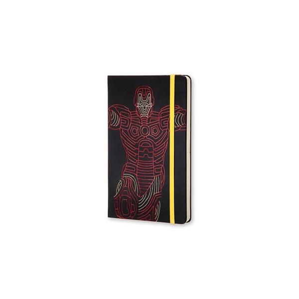 Moleskine The Avengers Limited Edition Defter Ironman