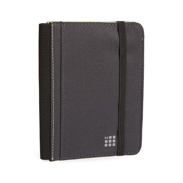 Moleskine Wallet Pasaport Cüzdan Gri