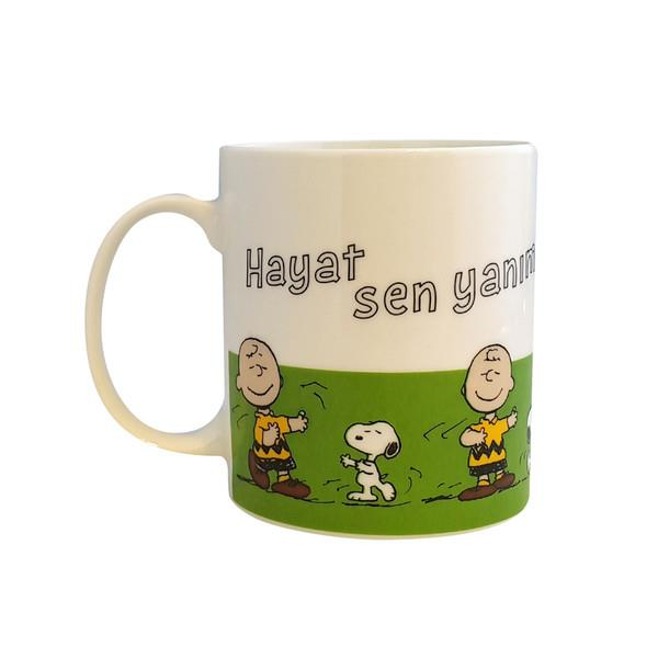 Snoopy Kupa Bardak Hayat Sen  Kupa10
